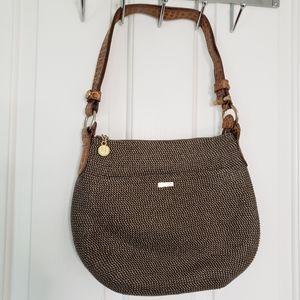 Eric Javits Squishee Woven Shoulder Bag.